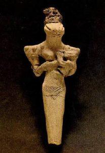 Diosa Serpiente Ur (Mesopotamia)